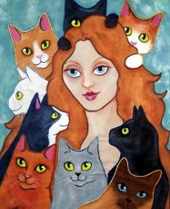 Cat Lady by Lisa Monica Nelson