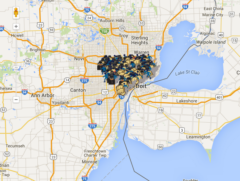 crime map detroit