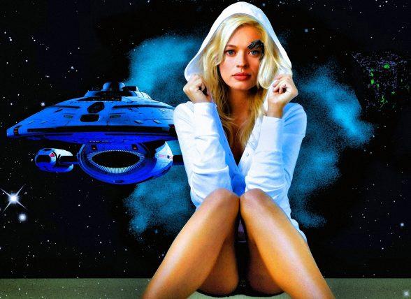 Star Trek Babes Nackt An- Und Ausziehen Porno-Bilder, Sex