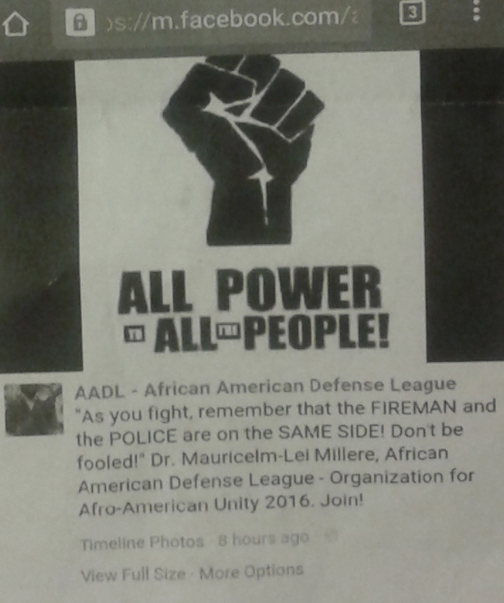 Black Supremacists publicly threatened Dallas police and fire fighters a month before the shootings according to a leaked Dallas Police Department memo