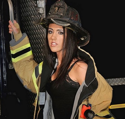 "115 lb female ""Fire Fighter"""