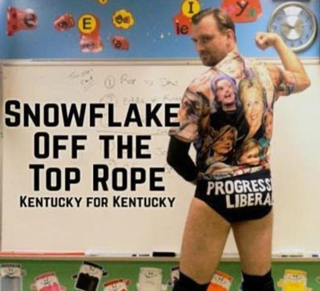 The progressive liberal:  Professional wrestler